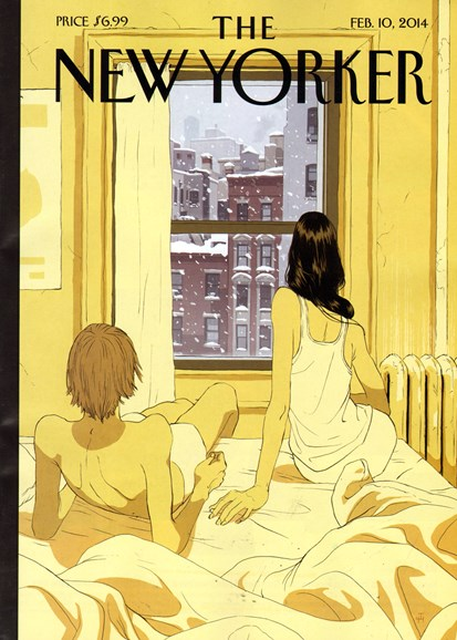 The New Yorker Cover - 2/10/2014