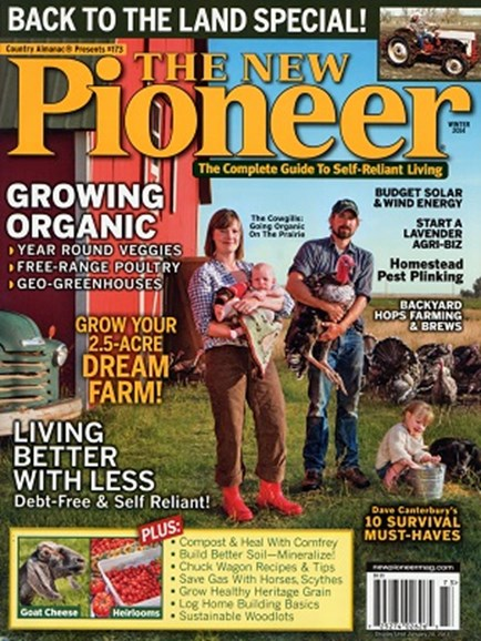 The New Pioneer Cover - 1/1/2014