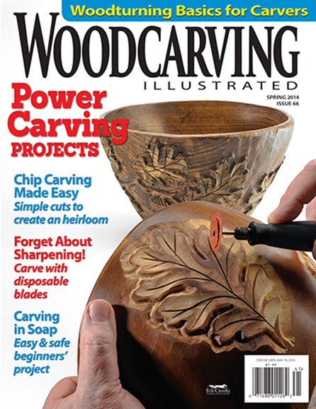 Wood Carving Illustrated Cover - 3/1/2014