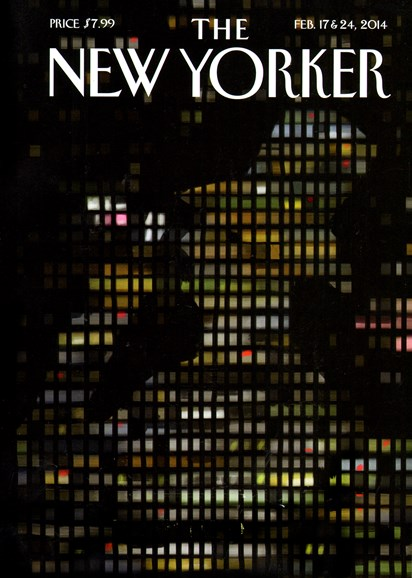 The New Yorker Cover - 2/17/2014