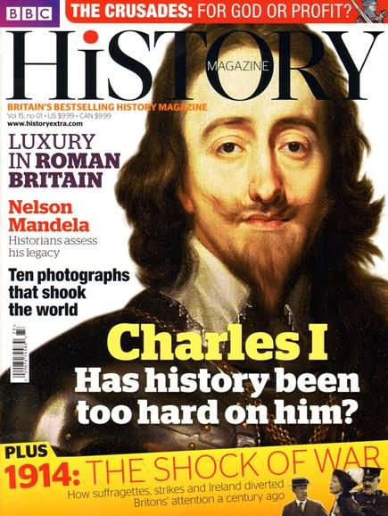BBC History Cover - 1/1/2014