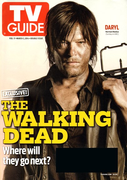 TV Guide Cover - 2/17/2014