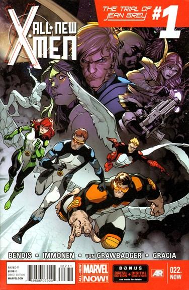X-Men Blue Cover - 3/15/2014