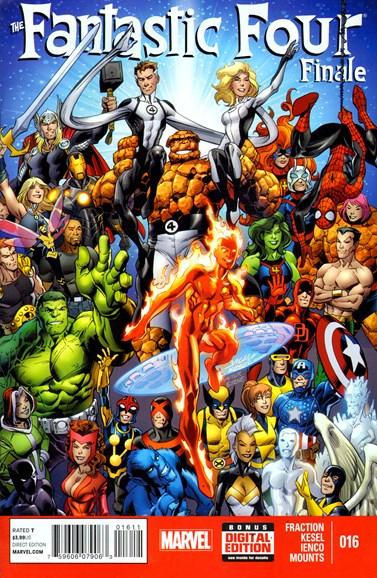 Fantastic Four Cover - 3/1/2014