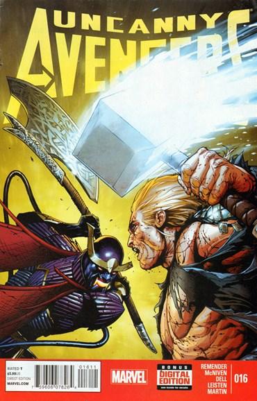 Uncanny Avengers Cover - 3/1/2014