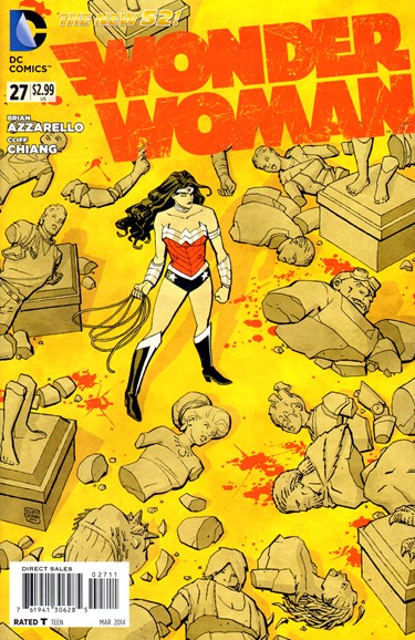 Wonder Woman Cover - 3/1/2014