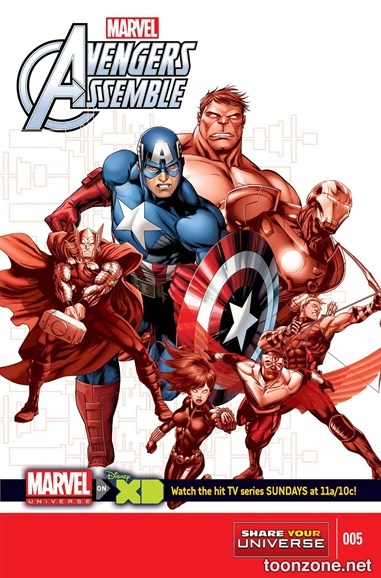 Marvel Universe Avengers Assemble Cover - 4/1/2014