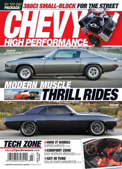 Chevy High Performance Cover - 3/1/2014