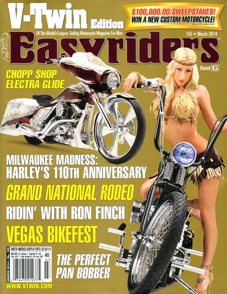 Easyriders Cover - 3/1/2014