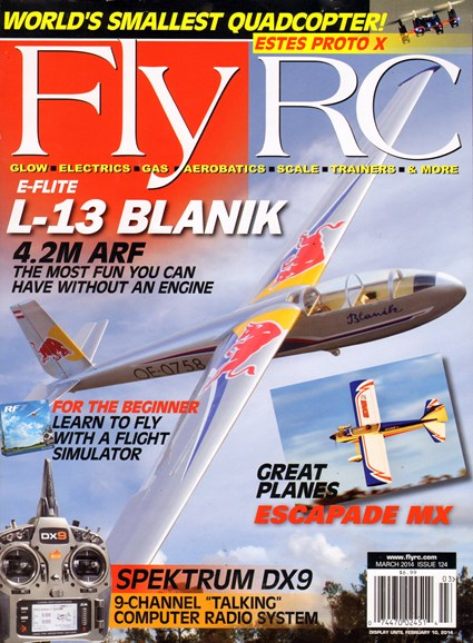 Fly RC Cover - 3/1/2014