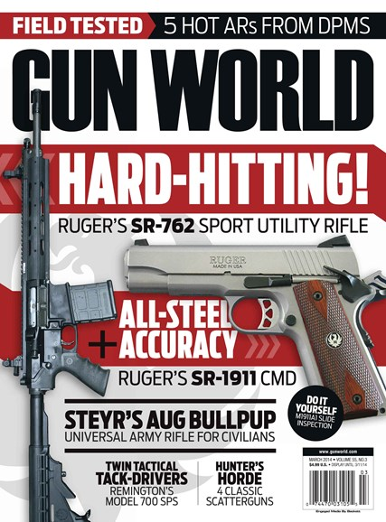Gun World Cover - 3/1/2014