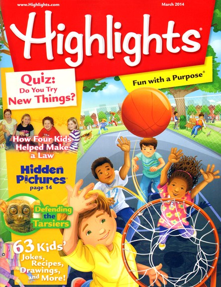 Highlights Cover - 3/1/2014