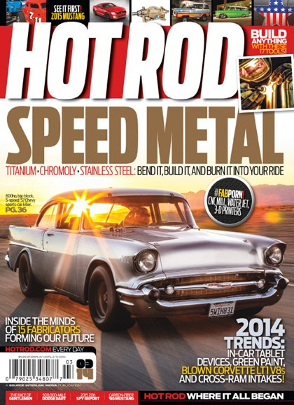 Hot Rod Cover - 3/1/2014