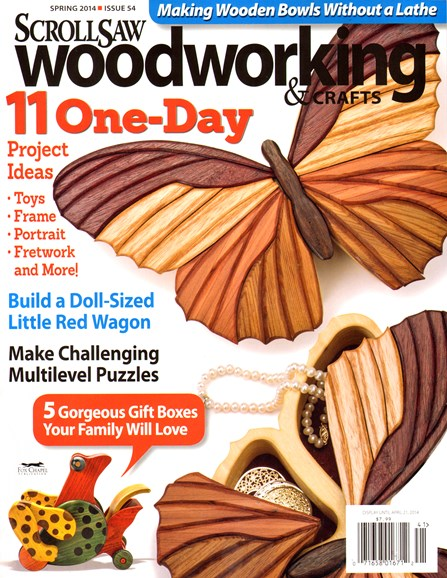 Scroll Saw Woodworking & Crafts Cover - 3/1/2014