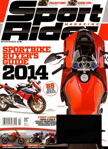 Sport Rider Cover - 3/1/2014