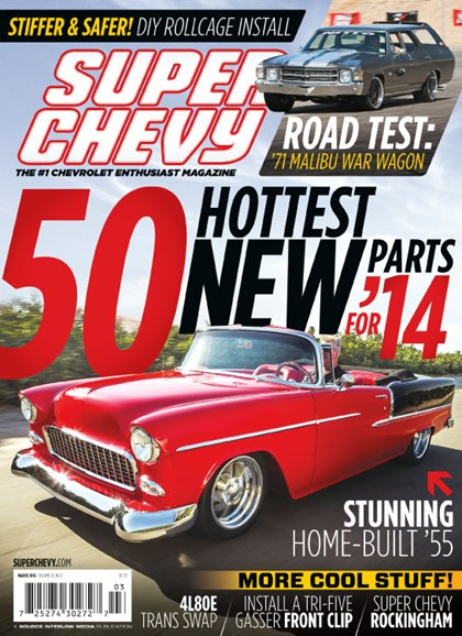 Super Chevy Cover - 3/1/2014
