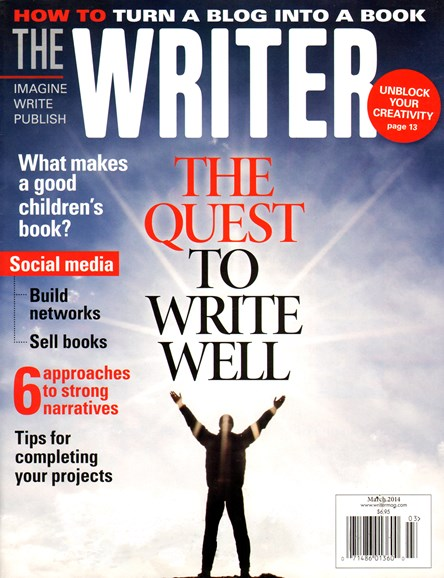 The Writer Cover - 3/1/2014