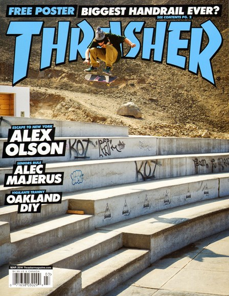 Thrasher Cover - 3/1/2014