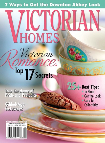 Victorian Homes Cover - 3/1/2014
