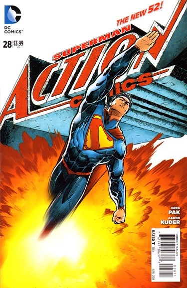 Action Comics Cover - 4/1/2014