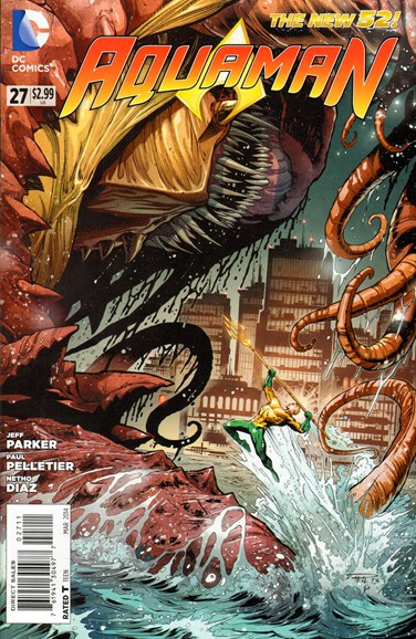 Aquaman Cover - 4/1/2014
