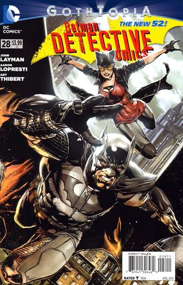 Detective Comics Cover - 4/1/2014