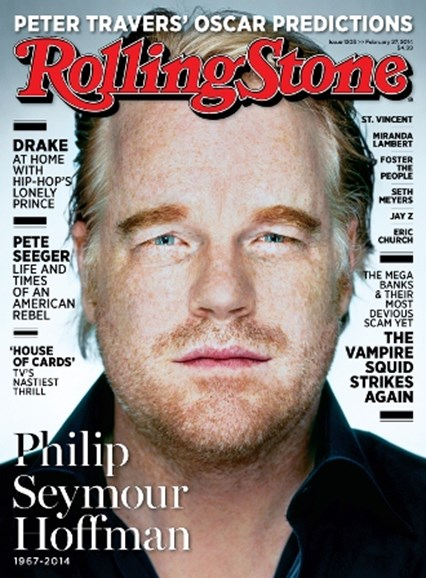 Rolling Stone Cover - 2/24/2014