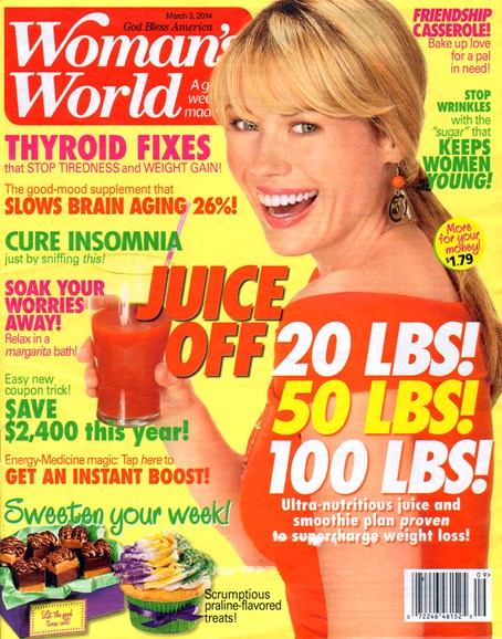 Woman's World Cover - 3/3/2014