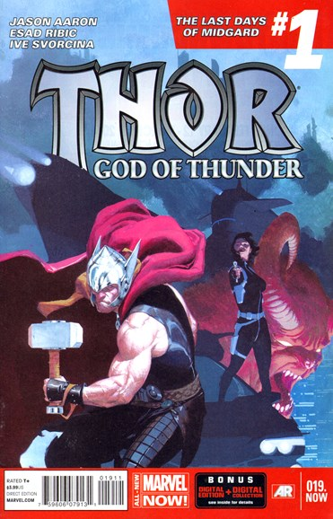 Thor Cover - 4/1/2014
