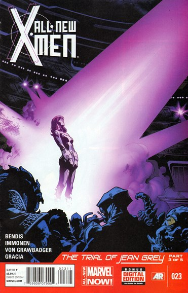 X-Men Blue Cover - 4/1/2014