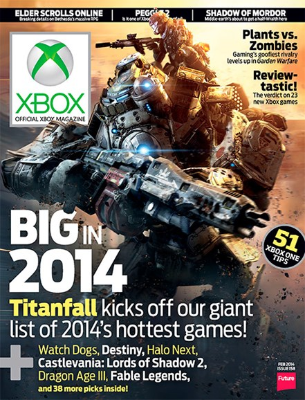 Official Xbox Magazine Cover - 2/1/2014
