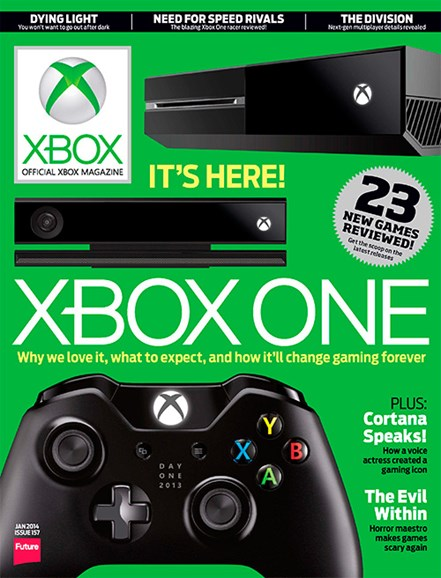 Official Xbox Magazine Cover - 1/1/2014