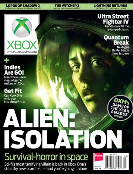 Official Xbox Magazine Cover - 3/1/2014