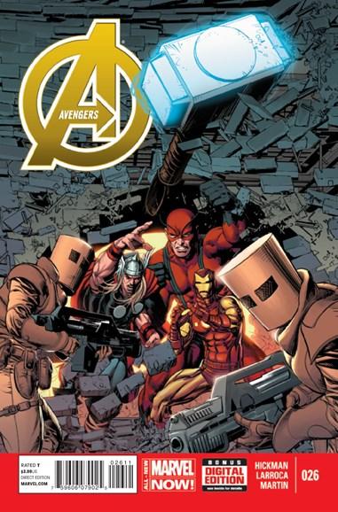 Avengers Cover - 4/1/2014