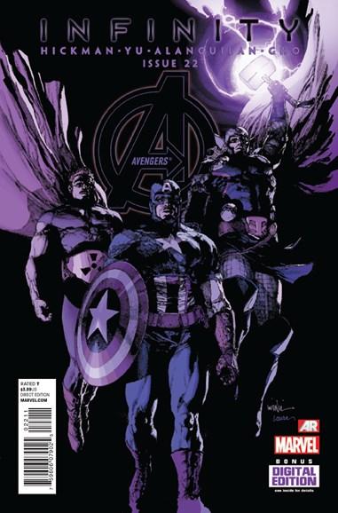Avengers Cover - 12/1/2013