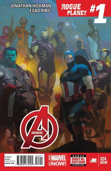 Avengers Cover - 2/1/2014