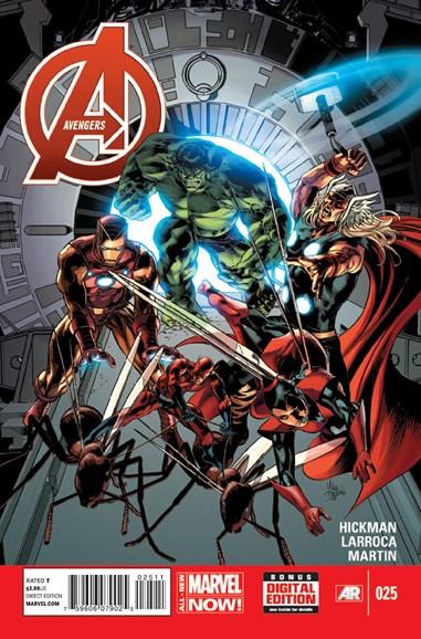 Avengers Cover - 3/1/2014