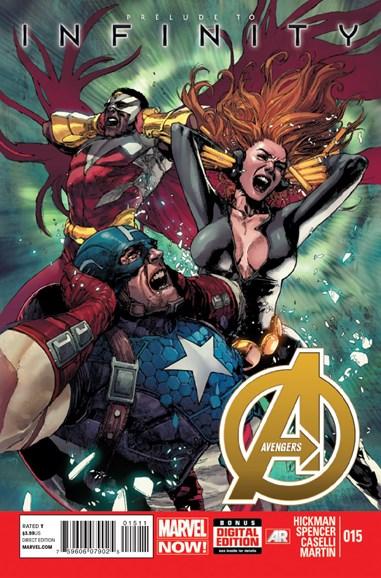 Avengers Cover - 9/1/2013