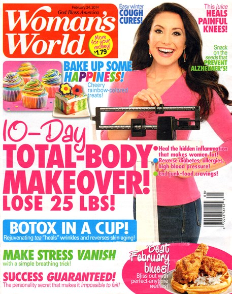 Woman's World Cover - 2/24/2014