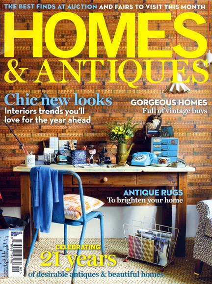 Homes & Antiques Cover - 2/1/2014