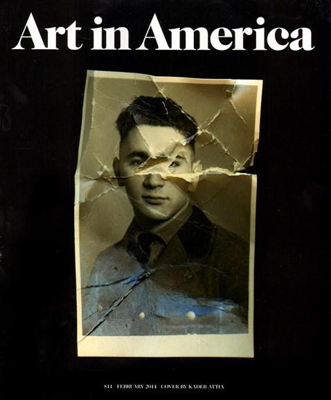Art In America Cover - 2/1/2014