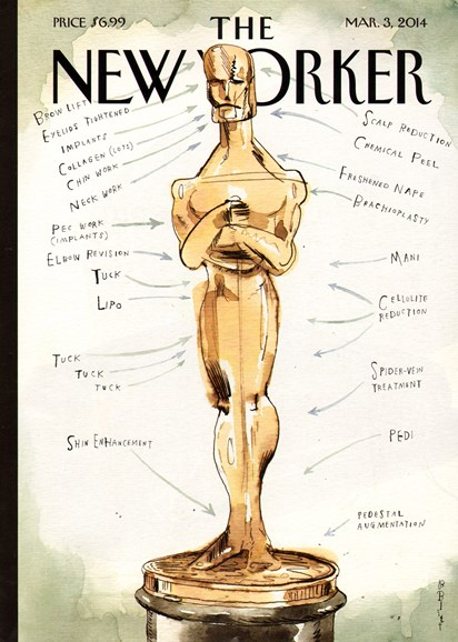 The New Yorker Cover - 3/3/2014