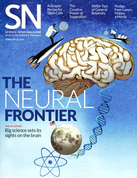 Science News Cover - 2/22/2014