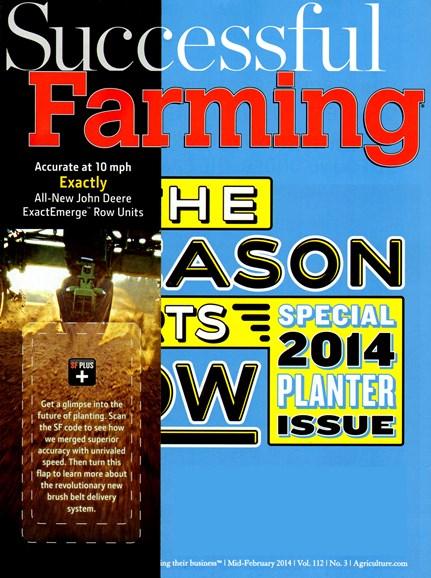 Successful Farming Cover - 2/15/2014