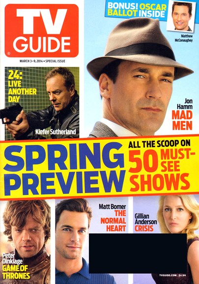 TV Guide Cover - 3/3/2014