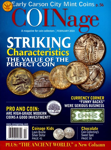 Coinage Cover - 2/1/2014