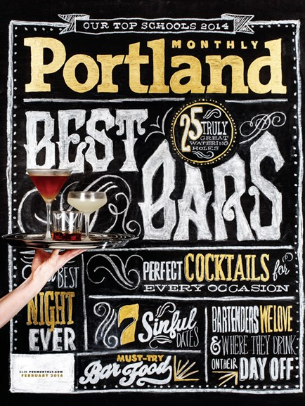 Portland Monthly Cover - 2/1/2014