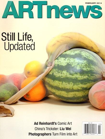 ARTnews Cover - 2/1/2014