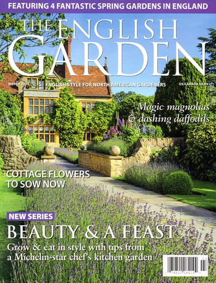 The English Garden Cover - 3/1/2014