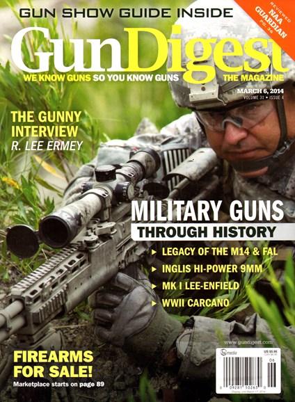Gun Digest Cover - 3/6/2014